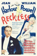 "Movie Posters:Drama, Reckless (MGM, 1935). One Sheet (27"" X 41"") Style D.. ..."