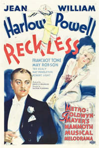"Reckless (MGM, 1935). One Sheet (27"" X 41"") Style D"