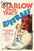 "Movie Posters:Drama, Riffraff (MGM, 1936). One Sheet (27"" X 41"") Style C.. ..."