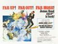 "Movie Posters:James Bond, On Her Majesty's Secret Service (United Artists, 1970). BritishQuad (30"" X 40"").. ..."