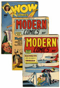 Golden Age (1938-1955):Miscellaneous, Comics - Assorted Golden Age Titles Group (Various Publishers, 1940s) Condition: Average VG.... (Total: 10 Comic Books)