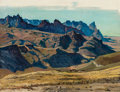 Fine Art - Painting, American:Modern  (1900 1949)  , WILLIAM WENDT (American, 1865-1946). California Mountains.Oil on canvas. 27-1/2 x 35 inches (69.9 x 88.9 cm). Signed lo...
