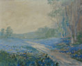 Texas:Early Texas Art - Impressionists, FRANZ STRAHALM (American, 1879-1935). Misty Morning. Oil onboard. 8 x 10 inches (20.3 x 25.4 cm). Signed lower right: ...