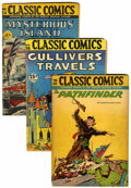 Golden Age (1938-1955):Classics Illustrated, Classic Comics Group (Gilberton, 1942-50) Condition: AverageGD/VG.... (Total: 17 Comic Books)