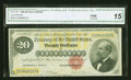 Large Size:Gold Certificates, Fr. 1178 $20 1882 Gold Certificate CGA Fine 15....