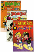 Bronze Age (1970-1979):Cartoon Character, Richie Rich and Jackie Jokers #1-48 File Copy Group (Harvey,1973-82) Condition: Average NM-.... (Total: 47 Comic Books)