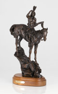 Sculpture, VIC PAYNE (American, b. 1960). The Sentinel. Bronze with patina. 19 x 11 x 6 inches (48.3 x 27.9 x 15.2 cm). Ed. 11/30...