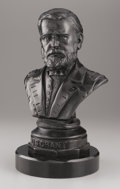 Sculpture, FREDERICK VOLCK (American, 1833-1891). U.S. Grant, 1869. Bronze with patina. 20 x 12 x 10 inches (50.8 x 30.5 x 25.4 cm)...