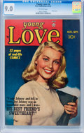 Golden Age (1938-1955):Romance, Young Love #4 (Prize, 1949) CGC VF/NM 9.0 Off-white pages....