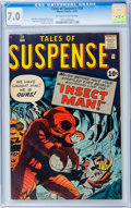 Silver Age (1956-1969):Horror, Tales of Suspense #24 (Marvel, 1961) CGC FN/VF 7.0 Off-white towhite pages....