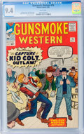 Silver Age (1956-1969):Western, Gunsmoke Western #76 (Marvel, 1963) CGC NM 9.4 White pages....