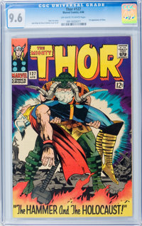 Thor #127 (Marvel, 1966) CGC NM+ 9.6 Off-white to white pages