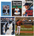 Autographs:Others, Baseball Stars Signed Books Lot of 5. ...