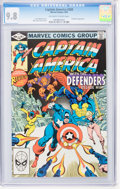 Modern Age (1980-Present):Superhero, Captain America #268, 270, and 274 CGC-Graded Group (Marvel, 1982)Condition: CGC NM/MT 9.8.... (Total: 3 Comic Books)