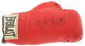 Boxing Collectibles:Autographs, Don King Signed Boxing Glove....