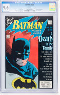 Modern Age (1980-Present):Superhero, Batman #426 and 428 CGC-Graded Group (DC, 1988).... (Total: 2 ComicBooks)