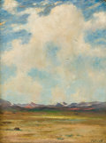 Paintings, ALBERT LOREY GROLL (American, 1866-1952). Arizona Desert. Oil on canvas. 16 x 12 inches (40.6 x 30.5 cm). Signed lower r...