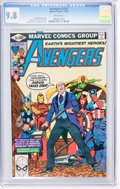 Modern Age (1980-Present):Superhero, The Avengers #201-203 CGC-Graded Group (Marvel, 1980-81) Condition:CGC NM/MT 9.8 White pages.... (Total: 3 Comic Books)