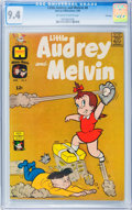 Silver Age (1956-1969):Humor, Little Audrey and Melvin #6 File Copy (Harvey, 1963) CGC NM 9.4 Off-white to white pages.