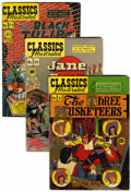 Golden Age (1938-1955):Classics Illustrated, Classics Illustrated Group (Gilberton, 1940s-50s) Condition:Average VG+.... (Total: 38 Comic Books)