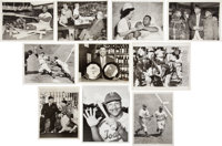 Roy Campanella Wire Photographs Lot of 19