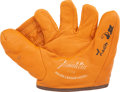Autographs:Others, Leon Day Signed Glove. ...