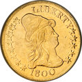 Early Eagles, 1800 $10 --Damaged--NCS. XF Details....