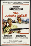 "Movie Posters:War, The Angry Hills (MGM, 1959). One Sheet (27"" X 41""). War.. ..."