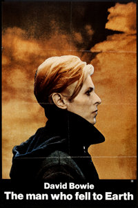 "The Man Who Fell to Earth (Cinema 5, 1976). One Sheet (26.5"" X 41.5""). Science Fiction"