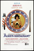 "Movie Posters:Comedy, Alice's Restaurant (United Artists, 1969). One Sheet (27"" X 41""). Comedy.. ..."