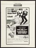 "Movie Posters:James Bond, On Her Majesty's Secret Service (United Artists, 1970). Pressbook(Multiple Pages) (13.25"" X 18""). James Bond.. ..."