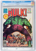 Magazines:Superhero, Hulk #13 (Marvel, 1979) CGC NM+ 9.6 White pages....