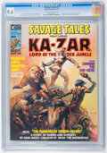 Magazines:Superhero, Savage Tales #10 (Marvel, 1975) CGC NM+ 9.6 Off-white to whitepages....