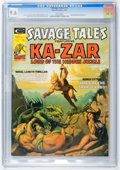 Magazines:Superhero, Savage Tales #11 (Marvel, 1975) CGC NM+ 9.6 White pages....