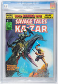 Magazines:Superhero, Savage Tales Annual #1 (Marvel, 1975) CGC NM+ 9.6 White pages....