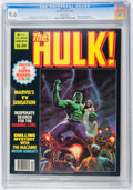 Magazines:Superhero, Hulk #14 (Marvel, 1979) CGC NM+ 9.6 White pages....