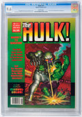 Magazines:Superhero, Hulk #15 (Marvel, 1979) CGC NM+ 9.6 White pages....