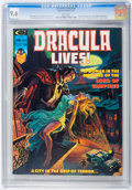 Magazines:Horror, Dracula Lives! #10 (Marvel, 1975) CGC NM+ 9.6 White pages....