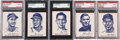Miscellaneous Collectibles:General, 1951 Wheaties Multi-Sport Mint 9 Near Set (5/6)....