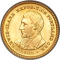 Commemorative Gold, 1905 G$1 Lewis and Clark MS65 PCGS....