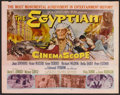 "Movie Posters:Historical Drama, The Egyptian (20th Century Fox, 1954). Half Sheet (22"" X 28"").Historical Drama.. ..."