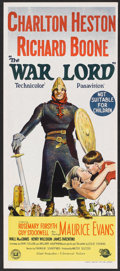 "Movie Posters:War, The War Lord (Universal, 1965). Australian Daybill (13"" X 30"").War.. ..."