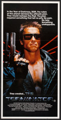 "Movie Posters:Science Fiction, The Terminator (Orion, 1984). Australian Daybill (13"" X 30"").Science Fiction.. ..."