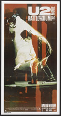 "Movie Posters:Rock and Roll, U2: Rattle and Hum (Paramount, 1988). Australian Daybill (13"" X30""). Rock and Roll.. ..."