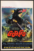 "Movie Posters:Science Fiction, Gorgo (MGM, 1961). Belgian (14"" X 21""). Science Fiction.. ..."