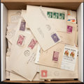 Stamps, US Covers, Postal Cards, and Cut Squares Mixture... (Total: 1 Small Box)