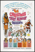 """Movie Posters:Fantasy, Christmas Lot (Various, 1945-1971). One Sheet (27"""" X 41""""),Pressbooks (2) (Multiple Pages, 11"""" X 17"""") and Lobby Cards (2)(1... (Total: 5 Items)"""
