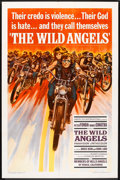 "Movie Posters:Action, The Wild Angels (American International, 1966). One Sheet (27"" X 41""). Action.. ..."