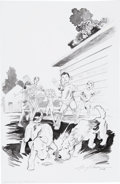 Original Comic Art:Covers, Michael Dubisch The Boxcar Children: Mike's Mystery Cover OriginalArt (Magic Wagon, 2009)....