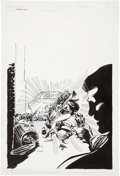 Original Comic Art:Covers, Joe Staton The Huntress Cover Original Art (DC, 1992)....